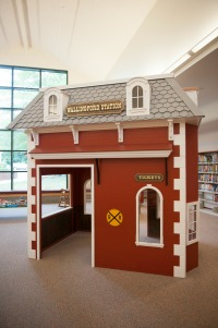 train station in the Children's Library