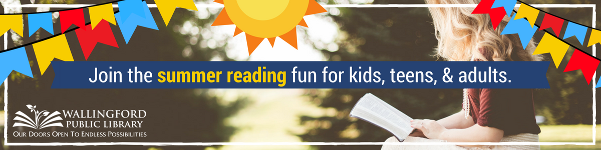 Join the summer reading fun for kids, teens, and adults